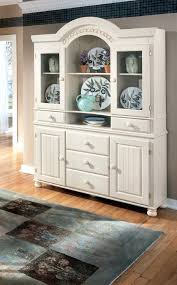buffet hutch white shallow buffet built of white shaker cabinets