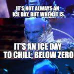 Mr Freeze Meme - bad pun mr freeze meme generator imgflip