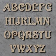 victorian font single wooden letters uk