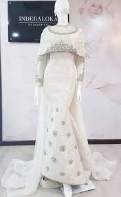 wedding dress brokat pin by sarinarita se on dress kebaya muslim and