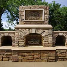outdoor fireplace kits for warm terrace thementra com