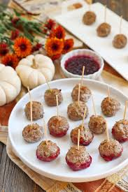 thanksgiving meatballs my beets