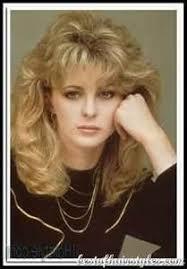 80s layered hairstyles 1980 s style thick layered bangs medium length hair