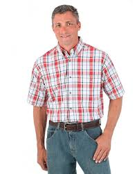 Rugged Wear Clothing Men U0027s Men U0027s Rugged Wear Blue Ridge Plaid Shirt Fort Brands
