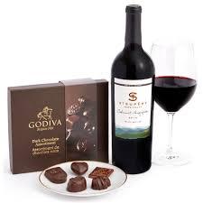 wine gift sets cabernet sauvignon chocolate gift set wine