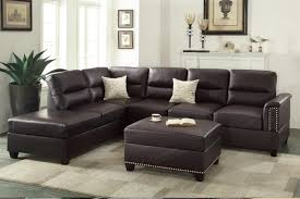 furniture modular couch basset sectional brown leather sectional