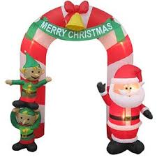 Outdoor Christmas Decorations Inflatables amazon com christmas decoration lawn yard inflatable airblown