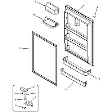 magic chef refrigerator parts model ctf2126arw sears partsdirect