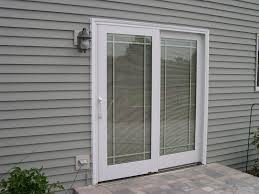 patio doors can you put venetian blinds on slidingtio doors