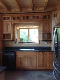 schuler maple kitchen cabinets in artisan door style with chestnut