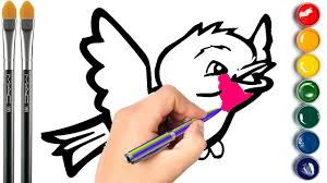 drawing animal animals coloring pages learning colors for kids
