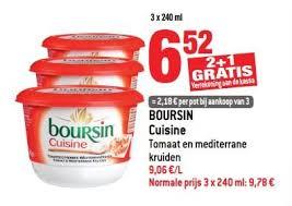 boursin cuisine smatch promotie boursin cuisine tomaat en mediterrane kruiden