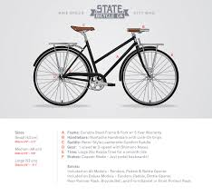 Comfort Bicycle Handlebars The Simpsons X State Bicycle Co Color Block Jersey State