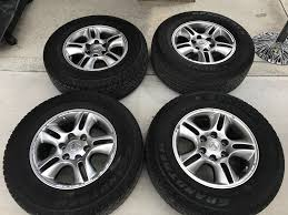 lexus wheels and tires for sale 2008 lexus tires and wheels set of 4 265 75r 17
