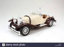 mercedes vintage model of a vintage mercedes car on white background stock