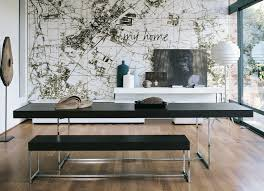 Modern Bench Dining Table Cool Modern Dining Table With Bench 17 Best Ideas About Modern