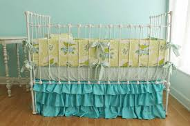 decoration the new color and design of the turquoise crib
