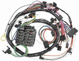 m u0026h 1969 chevelle dash instrument panel harness w warning lights