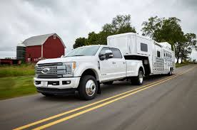 ford earthroamer xv hd 2017 ford f series super duty debuts with lighter all aluminum body
