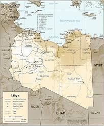 Gabon Map Map Of Libya Libya Political Map Libya Travel Map