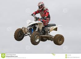 atv motocross racing atv motocross rider over a jump editorial photo image 6749796
