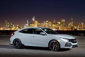 honda civic 2016 si 2017 honda civic hatchback ex l w navi first drive review