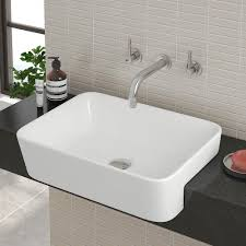 Semi Recessed Basins Bathroom Sinks Victorian Plumbing UK - Basin bathroom sinks