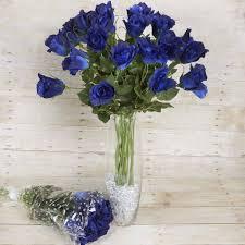 wedding flower 48 artificial wedding flower bundles vase centerpiece decor