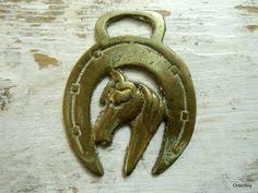 horseshoe paperweight 1900s horsebrass medallion horseshoe brass with vintage