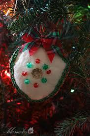 handmade vintage ornaments