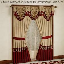 Park Design Valances Ideas U0026 Tips Living Room Window With Curtain Designs And White