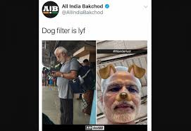 Meme India - how a meme of indian pm modi with puppy ears provoked police