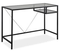 Glass Desk Table Home Office Furniture Big Lots