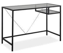 Glas Desk Home Office Furniture Big Lots