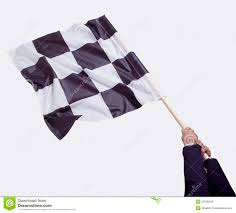White Flag Gif Waving Checkered Flag Stock Photo Image Of Square Abstract