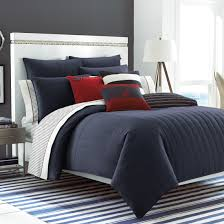 Navy Blue Bedding Set King Size Blue Comforter Sets Navy And White Ecfq Info With Regard