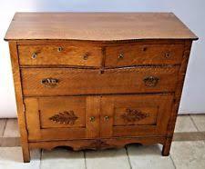 Mission Style Vanities Original Colonial Antique Dressers U0026 Vanities Ebay