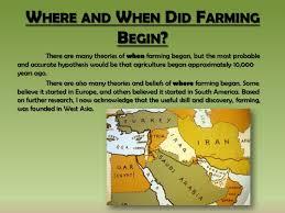 inquiry questions farming