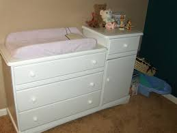 White Changing Table Topper Changing Table Dresser Practicality And Safety Kennecottland