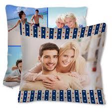 18x18 photo burlap pillows burlap couch pillow mailpix
