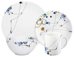 kites 16 dinnerware set by oldfather contemporary