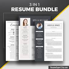 Creative Resume Templates For Mac Creative Resume Template Bundle Cover Letter References