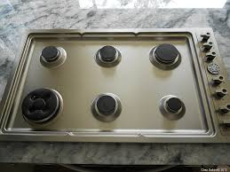 Clean Stainless Steel Cooktop Clean That Stainless Steel Stove Top The Easy Breezy Way Chez Sabine