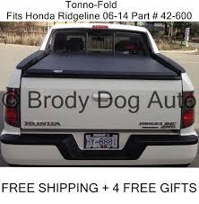 Honda Ridgeline Bed Extender 2006 2014 Honda Ridgeline Tri Fold Tonneau Bed Cover By Tonno Pro