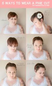how to style a pixie cut different ways black hair mama wears 6 way to style a pixie cut our holly days
