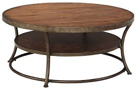 Ashley Furniture Side Tables Ashley Furniture Nartina Round Wood Cocktail Table Jet Com