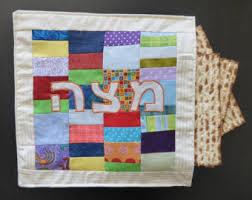 matzah covers matzah cover 3 layers for passover grapes design
