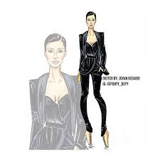 this app will make your own fashion illustration colourful