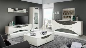 wohnzimmer komplett couchtisch ziertisch sandeiche weiß hochglanz 110cm neu