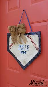Home Plate Baseball by Baseball Home Plate Decor